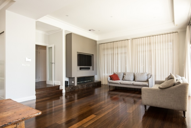 Hurford Roasted Peat Flooring Warrawee